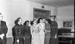 Dr. Susie Elliot returning from Howard University. Feb, 1956 4