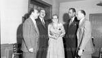 Dr. Susie Elliot returning from Howard University. Feb, 1956 5