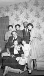 Thurgood Marshall and his family