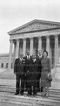 Lawyers from North Carolina at the Supreme Court. November 1955.