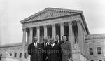 Lawyers from North Carolina at the Supreme Court. November 1955. 2