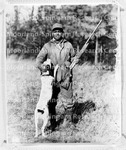 Leonard, Buck with a gun and dog