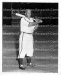 Williams, Jud with bat homestead Grays