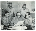 Executive Staff at Station Hospital, Fort Huachuca, Arizona