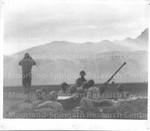 450th Anti-Aircraft Artillery Battalion in Italy in the field