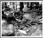 Japanese American machine gunner