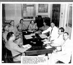 Conference held at State Selective Service Headquarters, New Orleans, L.A. Jackson Barracks