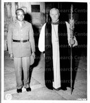 Sgt. Henry Chambers, Left, and the Right Reverend Lord Bishop, Right