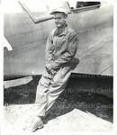 Lt. Col. Benjamin O. Davis, Jr. Commanding Officer of the Negro P-40 outfit.