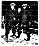 Negro Coast Guard Officers Brave Winter Snows
