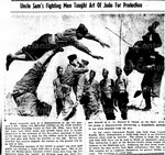 Uncle Sam's Fighting Men Taught Art of Judo for Protection