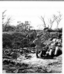 Heavy Barrage of artillery was dropped on Jap[anese] held positions