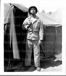 Somewhere in the Pacific area, serving with the Famed 2nd marine Division, is Corporal James C. King,