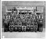 A group picture of military police who are stationed in _ Georgia
