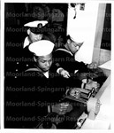 Naval Reservist get in Weekly Submarine Drill, June 23, 1949 (3)