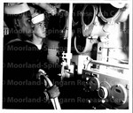 Naval Reservist get in Weekly Submarine Drill, June 23, 1949 (5)
