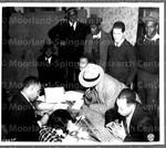 Draft registration day, Baltimore, MD, October 16, 1940