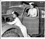 WACS drive, Repair Ambulances at Halloran General Hospital, Staten Island, New York