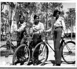 [Bicycle riding]
