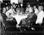 Ferebee, Dorothy (right Foreground) at Black Caucus Weekend Dinner