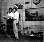 Ellington, Mercer with Sidney Poitier narrating documentary about Liberia, 1952