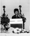 Ferebee, Dorothy (speaking at Podium)