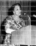 Ferebee, Dr. Dorothy B speaking at microphone