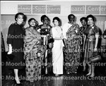 Ferebee, Dr. Dorothy B (left) Lois Jones 2nd from right