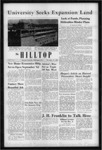 The Hilltop 11-17-1961 by Hilltop Staff