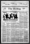 The Hilltop 1-20-1984 by Hilltop Staff