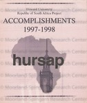 The Hilltop 9-25-1998 South African Research Project Issue