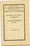 Founding of the School of Medicine of Howard University
