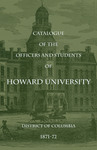 1871-72: Catalog of the Officers and Students of Howard University