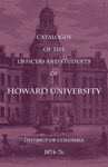 1874-76: Catalog of the Officers and Students of Howard University