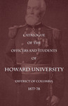 1877-78 Catalog of the Officers and Students of Howard University