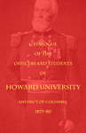 1879-80 Catalog of the Officers and Students of Howard University