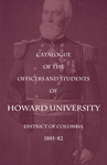 1881-82 Catalog of the Officers and Students of Howard University