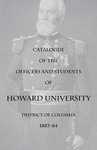 1883-84: Catalog of the Officers and Students of Howard University