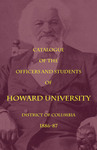 1886-87: Catalog of the Officers and Students of Howard University