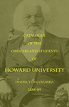 1888-89: Catalog of the Officers and Students of Howard University