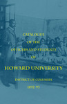 1892-93: Catalog of the Officers and Students of Howard University