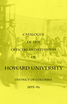 1895-96: Catalog of the Officers and Students of Howard University