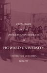 1896-97:  Catalog of the Officers and Students of Howard University