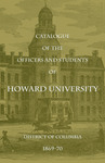 1869-70: Catalog of the Officers and Students of Howard University