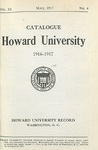 1918-19: Catalog of the Officers and Students of Howard University