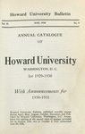1931-32: Catalog of the Officers and Students of Howard University