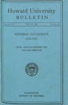 1941-42: Catalog of the Officers and Students of Howard University