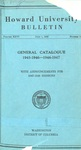 1948-49: Catalog of the Officers and Students of Howard University