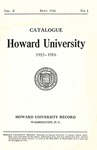 1915-16: Catalog of the Officers and Students of Howard University