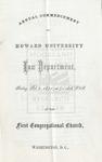 1871 - Howard University Law Department Commencement